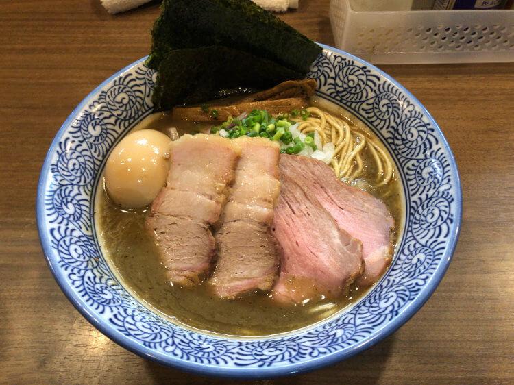 特製濃厚煮干しそば@煮干しつけ麺宮元 蒲田
