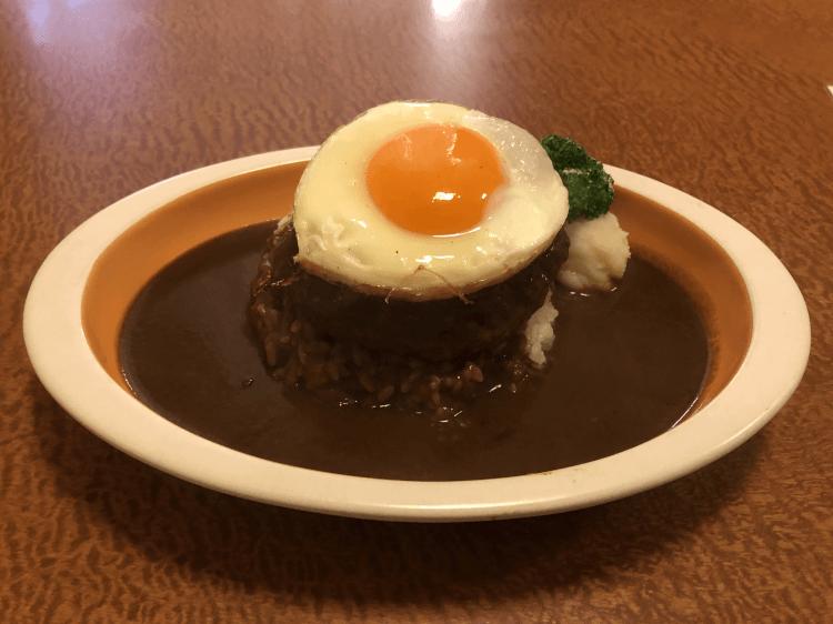 カレーハンバーグ@ハンバーグダイナーマル 大井町
