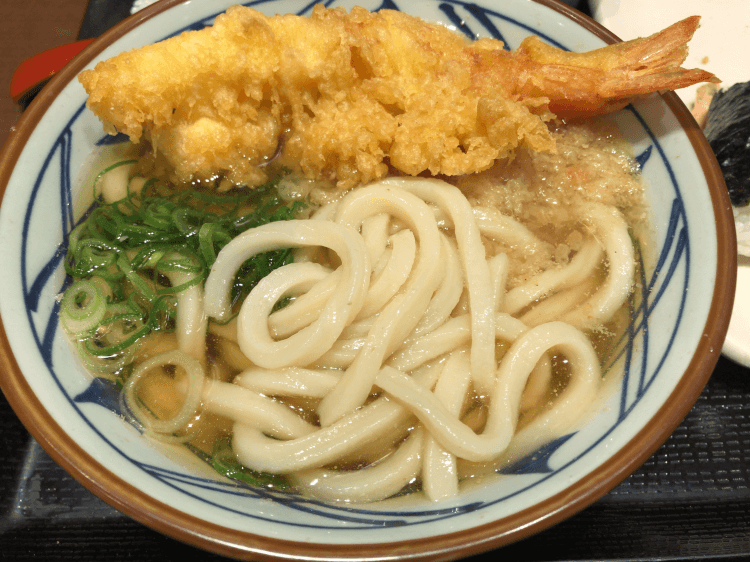 大海老うどん@丸亀製麺 大崎ThinkPark店