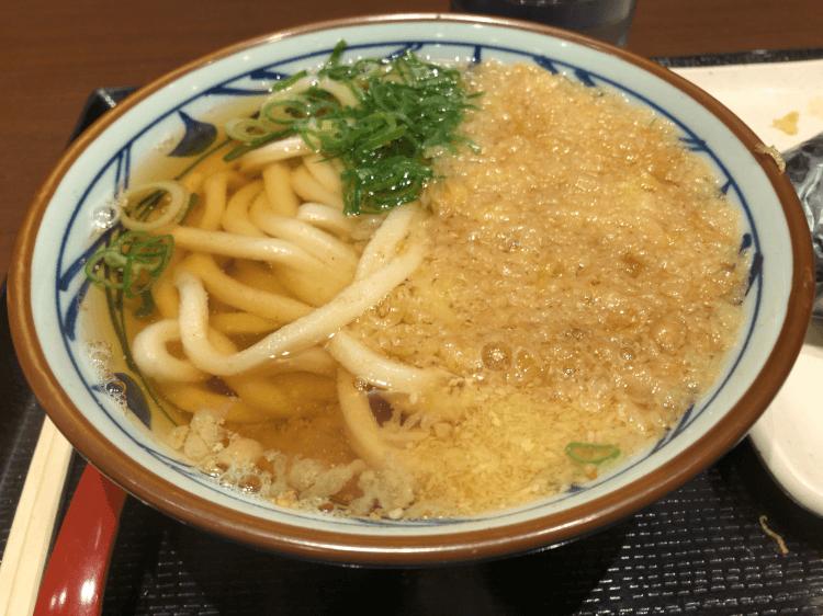 かけうどん@丸亀製麺 大崎ThinkPark店