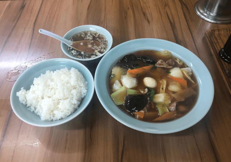 うま煮定食@丸吉飯店 大井町