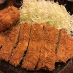 【700円】の美味しいとんかつ定食!コスパ最強「とんかつ まるや」新橋烏森口
