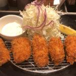【松のや】のカキフライ!広島産の牡蠣フライ定食 実食レポート