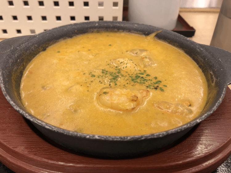 オマール海老ソースのクリームカレー@松屋 東大井町店