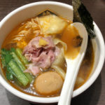 【麺魚の新店】オープン!「真鯛らーめん麺魚」神保町店限定の甘えびらーめん