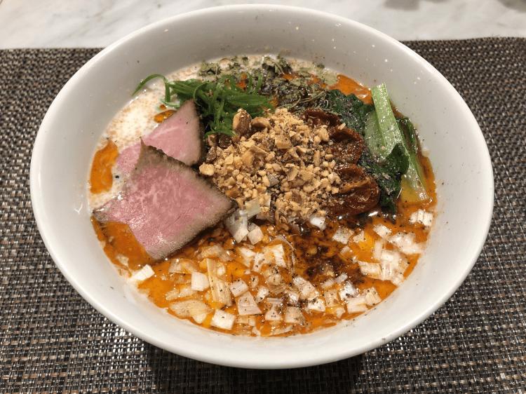 冷製アーモンド担々麺@メンショーサンフランシスコ 新宿