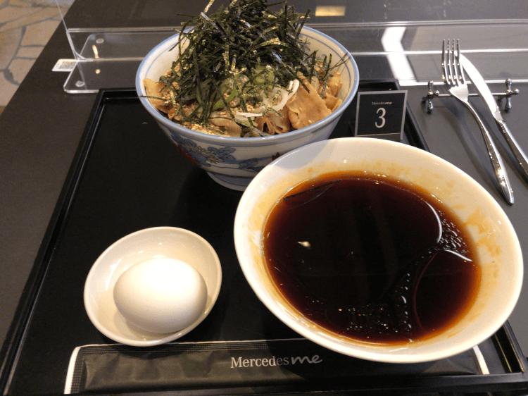 冷たい肉そば@The Minatoya Lounge 羽田空港第2ターミナル
