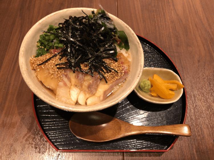 お茶漬け (鯛)@串揚げと和食 もりもと 浜松町