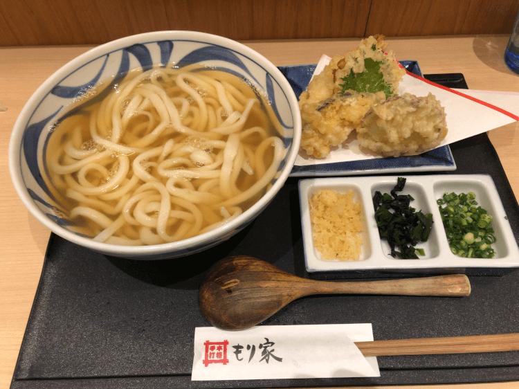 天ぷらセット@もり家 浜松町