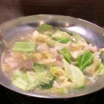 【1人モツ鍋】水炊き風もつ鍋の老舗「もつ幸」博多・呉服町 最高に美味しかった!