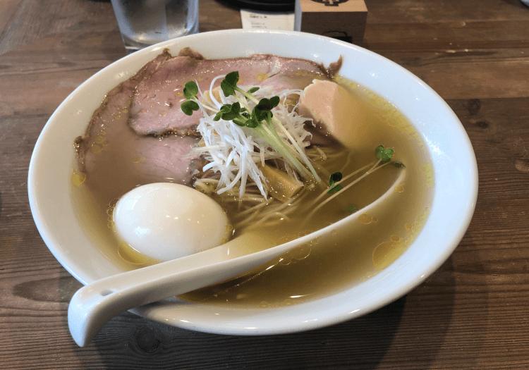 特製だし麺 塩@ナミノアヤ 上野毛
