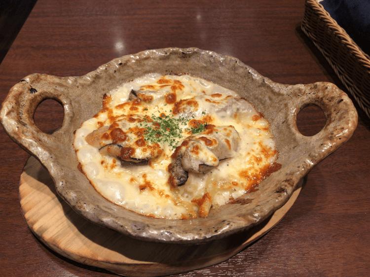 牡蠣バターソテーグラタン@ドリア&グラタンなつめ