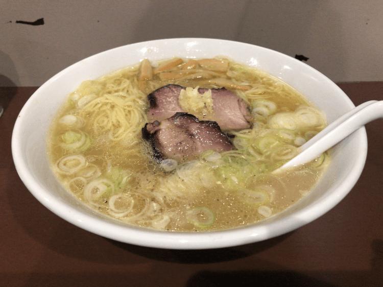 守 細麺 塩@のスた 大井町