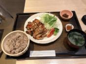 もろみチキンの炭火焼き定食@大戸屋 阪急大井町ガーデン店
