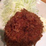 大ぶりなメンチ美味しい!五反田「スワチカ」でメンチかつ定食