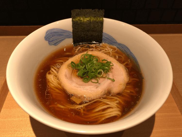 醤油らぁ麺@NIPPON RAMEN 凛 RIN TOKYO グランスタ東京