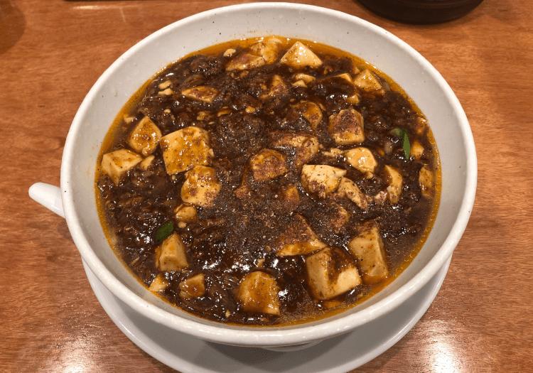 麻婆麺@SHIBIRE NOODLES 蝋燭屋 京橋エドグラン店