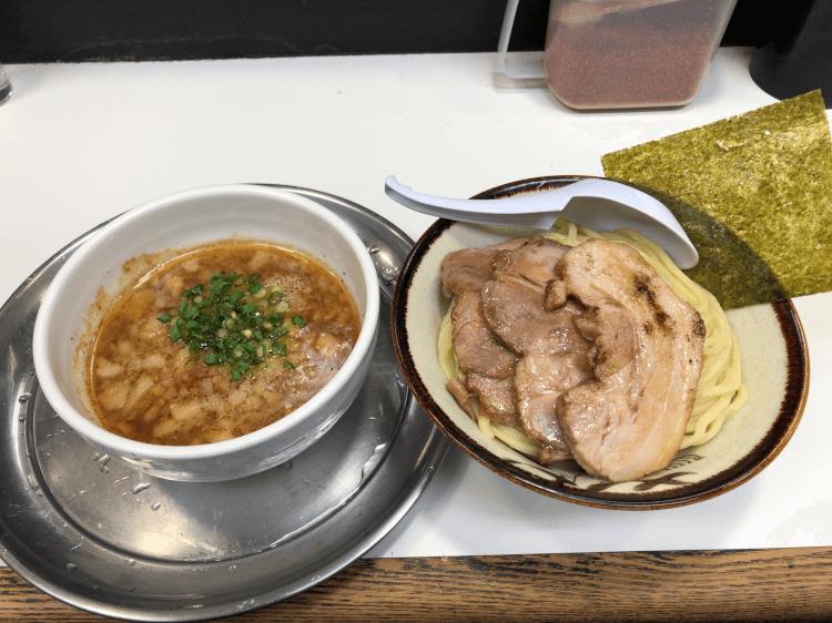 小豚つけ麺 (背脂)@らーめん凌駕 大岡山