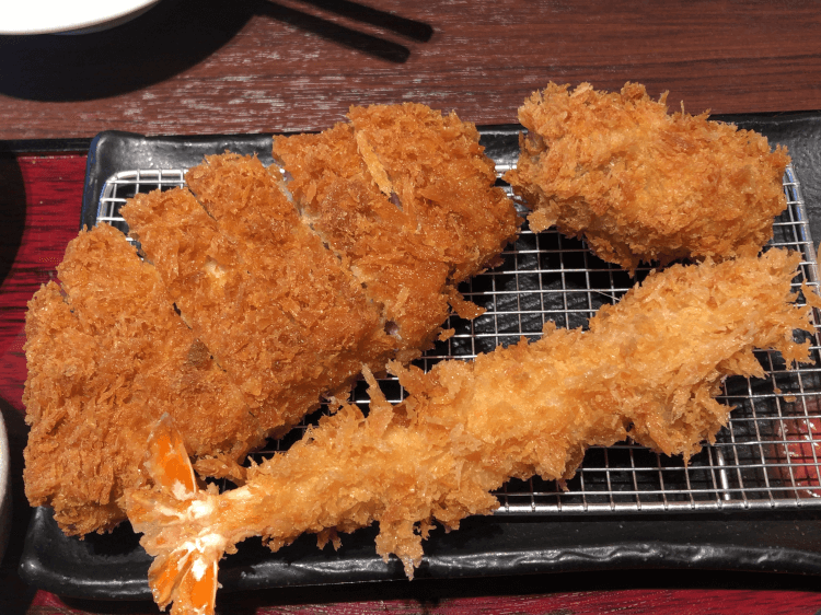 Sabo RED、大海老フライ、カキフライ新宿さぼてん 大井町アトレ店