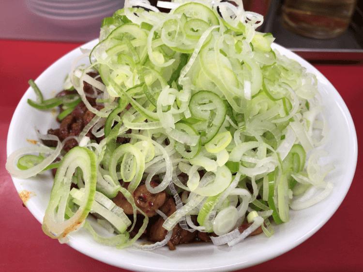 純レバ丼ミニサイズ@菜苑 亀戸