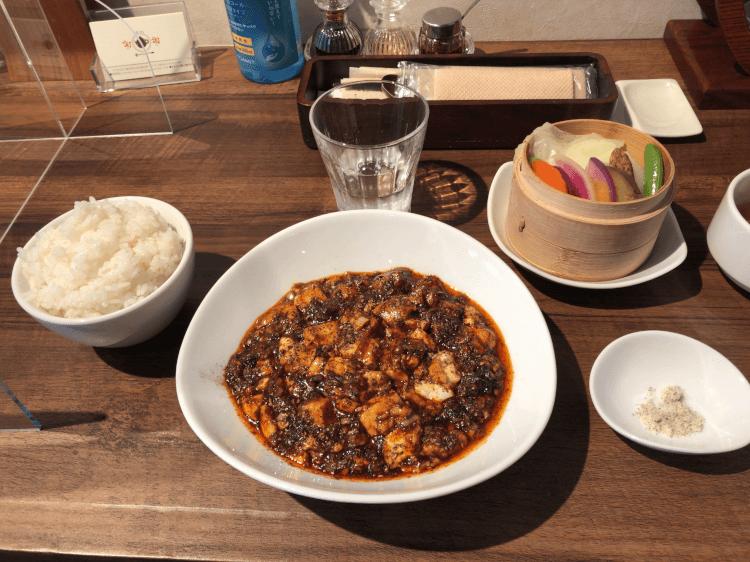 特製麻婆豆腐ランチ@茶菜カフェ謝謝 恵比寿
