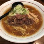 【牛骨ラーメン】スープも牛すじも絶品!「シマシマトム」両国