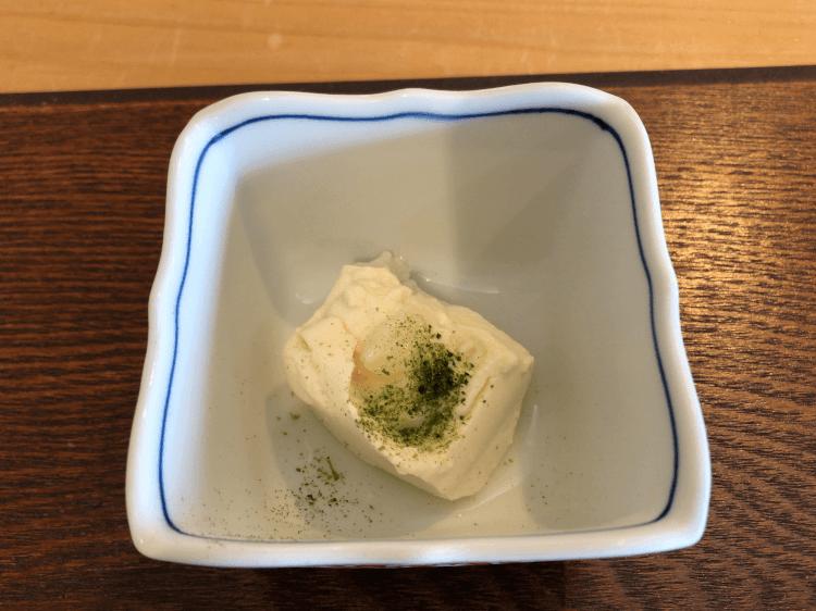 豆腐の塩麹がけ@しながわ葵 青物横丁