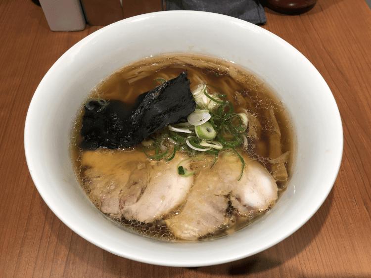 醤油らぁ麺@支那そば 東京ラーメンストリート