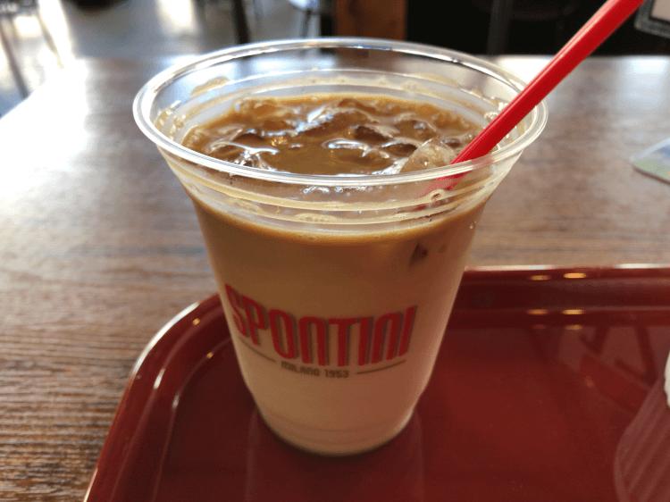 アイスコーヒー@スポンティーニ 原宿