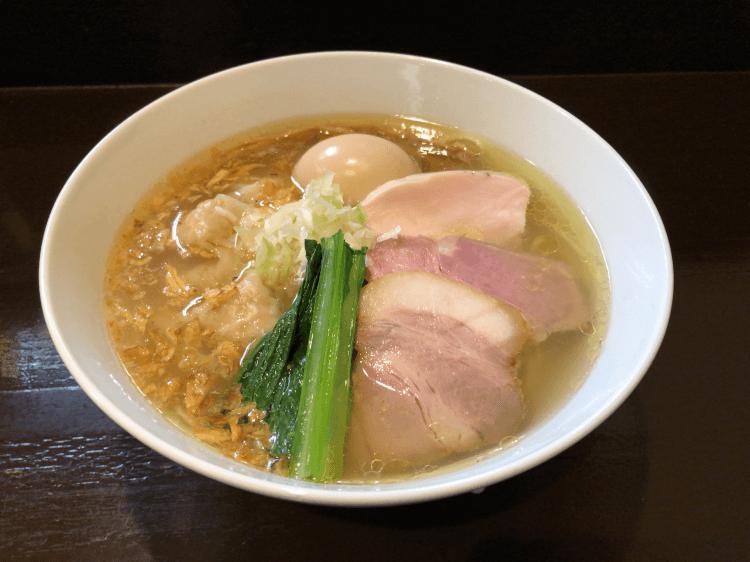 特製塩らぁ麺@らぁ麺 すぎ本 鷺ノ宮