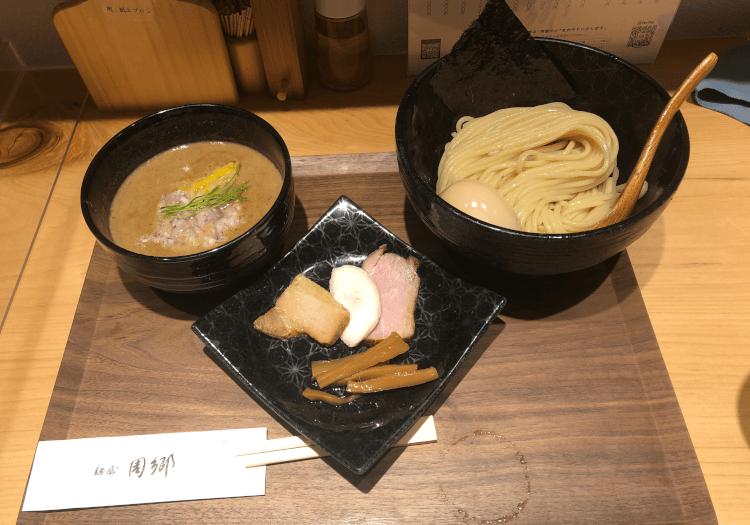 煮玉子つけ麺@麺屋 周郷 新橋