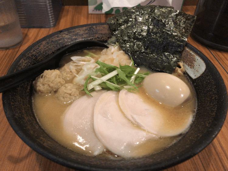 特製濃厚鶏骨醤油そば@麺屋 武一 新橋