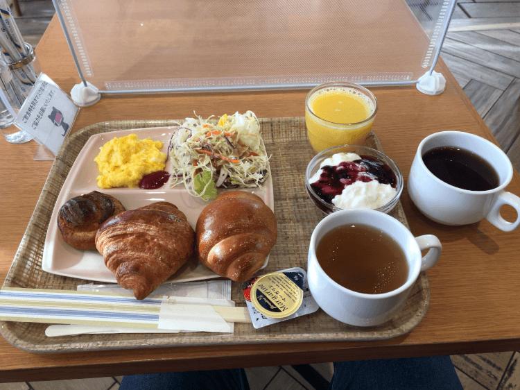 アワーズイン阪急 ザ・ガーデンの朝食