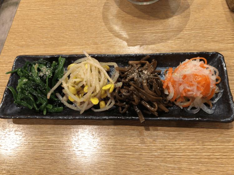 ナムル盛@焼肉とどろき 浅草橋店