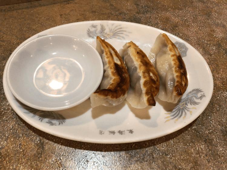 焼き餃子@東海飯店 大門