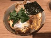 東京Xロースカツ丼@とんかつX ムスブ田町