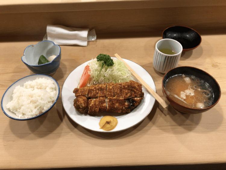 ロースかつ定食@とんかつ とんき 目黒
