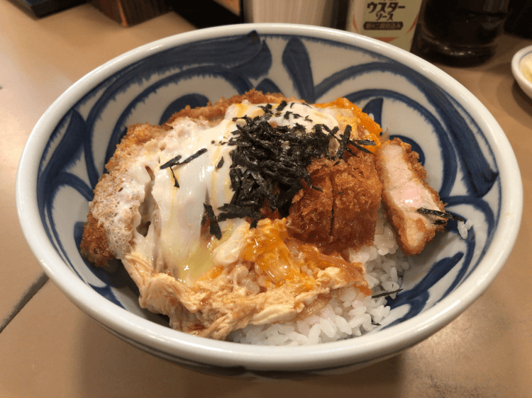 特製カツ丼@とん喜 銀座