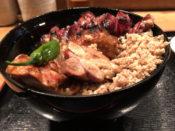 虎ノ門 鳥与志 の焼き鳥丼の写真