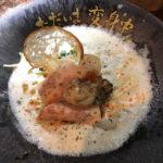 【牡蠣と鯛】の豆乳ラーメンが絶品!の新店オープン「ただいま変身中」中野