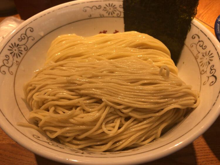 特製清湯つけそば-麺@つけそば神田勝本 神保町