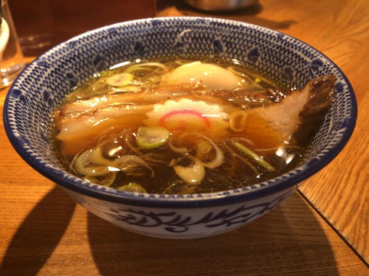 特製清湯つけそば-スープ@つけそば神田勝本 神保町