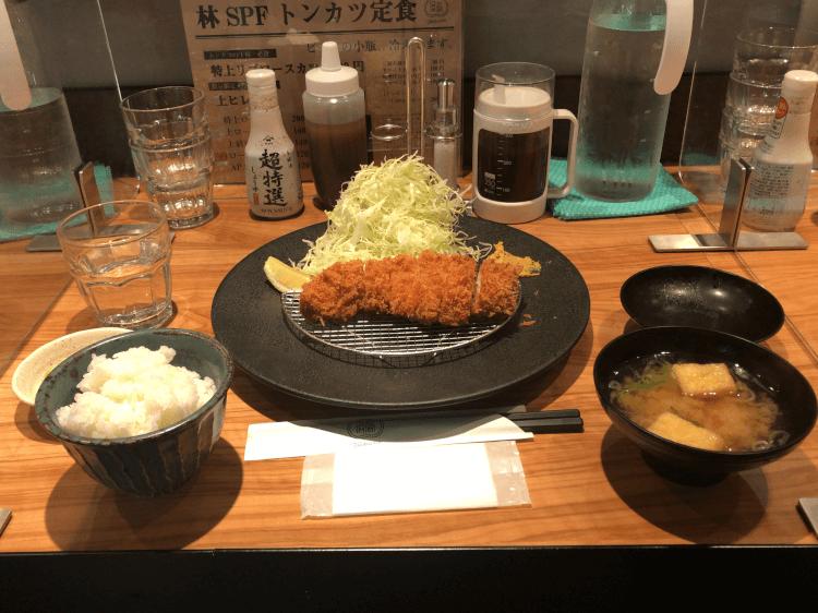 ロースカツ定食@ツキウマ 田町