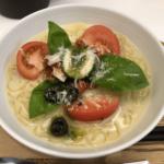 渋谷「つるしこ」新感覚トマトバジル冷麺はコシが強力!で完成度高し