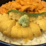 函館「うにむらかみ」で1杯6,000円超え!うに丼 エゾバフンウニとムラサキウニ
