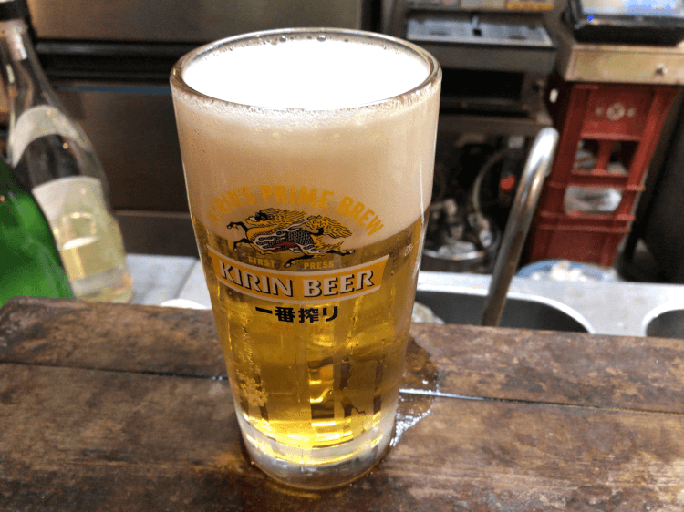 生ビール 440円@晩杯屋 大井町店