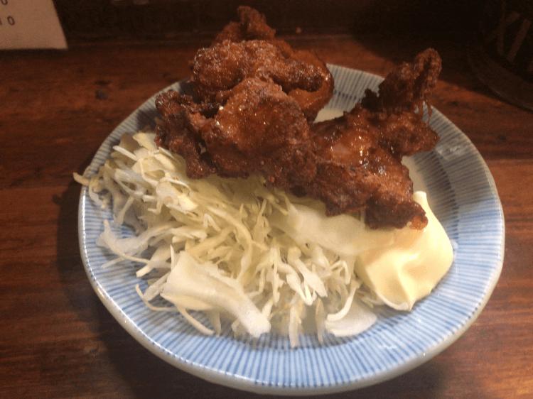 鶏の唐揚げ 180円@晩杯屋 大井町店