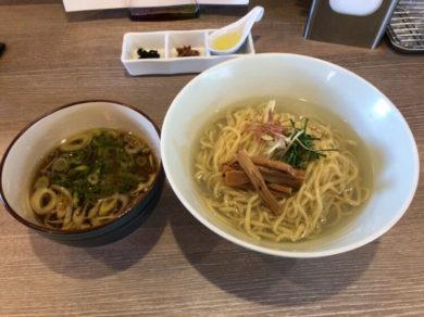 しじみ昆布水つけ麺@和渦 TOKYO 北品川