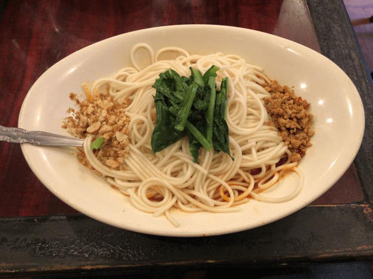 汁なし担々麺@中国家庭料理 楊2号店