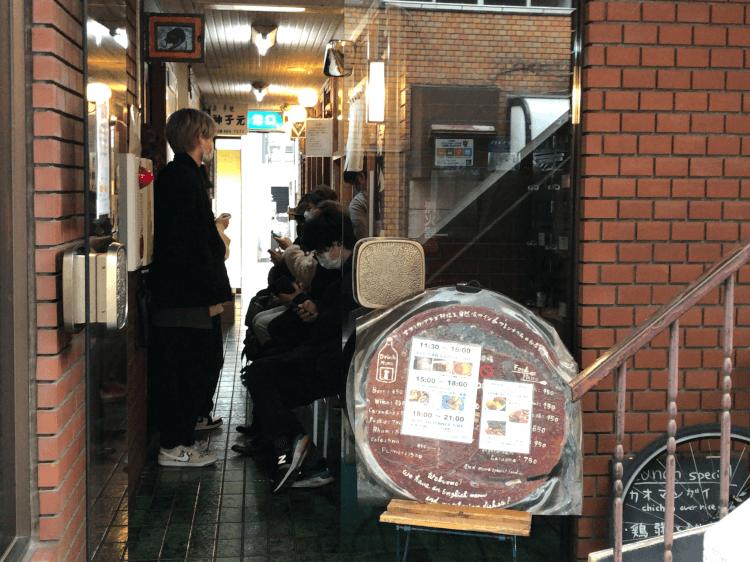 渋谷 瑞兆 店頭の行列の様子